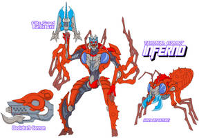 Decepticon Inferno by Tyrranux