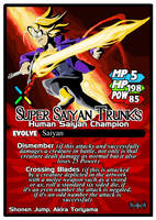 Titan Clash Super Saiyan Trunks by Tyrranux