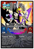 Titan Clash Blitzwing by Tyrranux