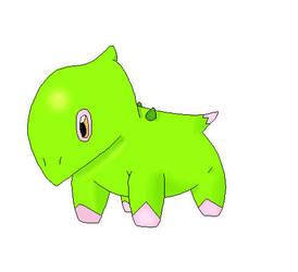 Fake Pokemon - Leaftops by bamtorchic