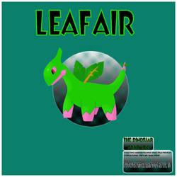 Fake Pokemon - Leafair by bamtorchic