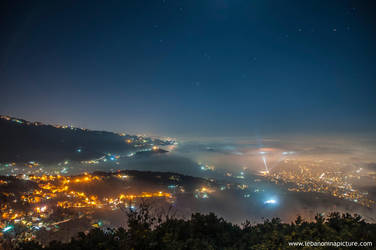 View of City Lights From Top by alanove