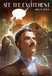 Nikola Tesla by Travis-Anderson
