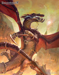 Dragoborne: Doomchaser by Travis-Anderson