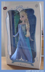 Limited Edition OOAK Elsa, Olaf's Frozen Adventure by Yuki87