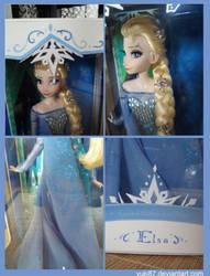 Limited Edition OOAK Elsa, close-ups by Yuki87