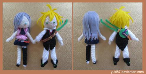 commission: Meliodas and  Elizabeth by Yuki87