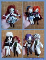 commission: 7 OCs by Yuki87