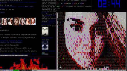 Linux Console Screenshot by laabiyad