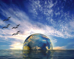 Earth Rise by moroka