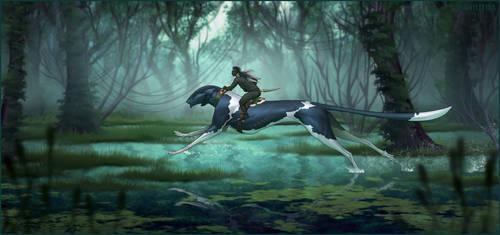 The wetlands by AniutqaART