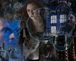 Doctor Who Collage by AskGriff