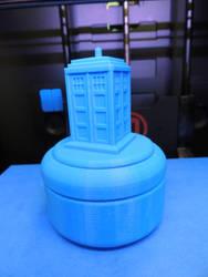 TARDIS Trinket Box by AskGriff