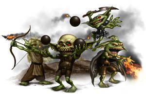 Goblins Four by ianllanas