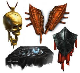 Magic Items by ianllanas
