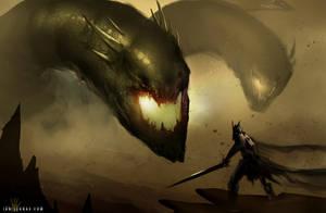 Demon Dragon by ianllanas
