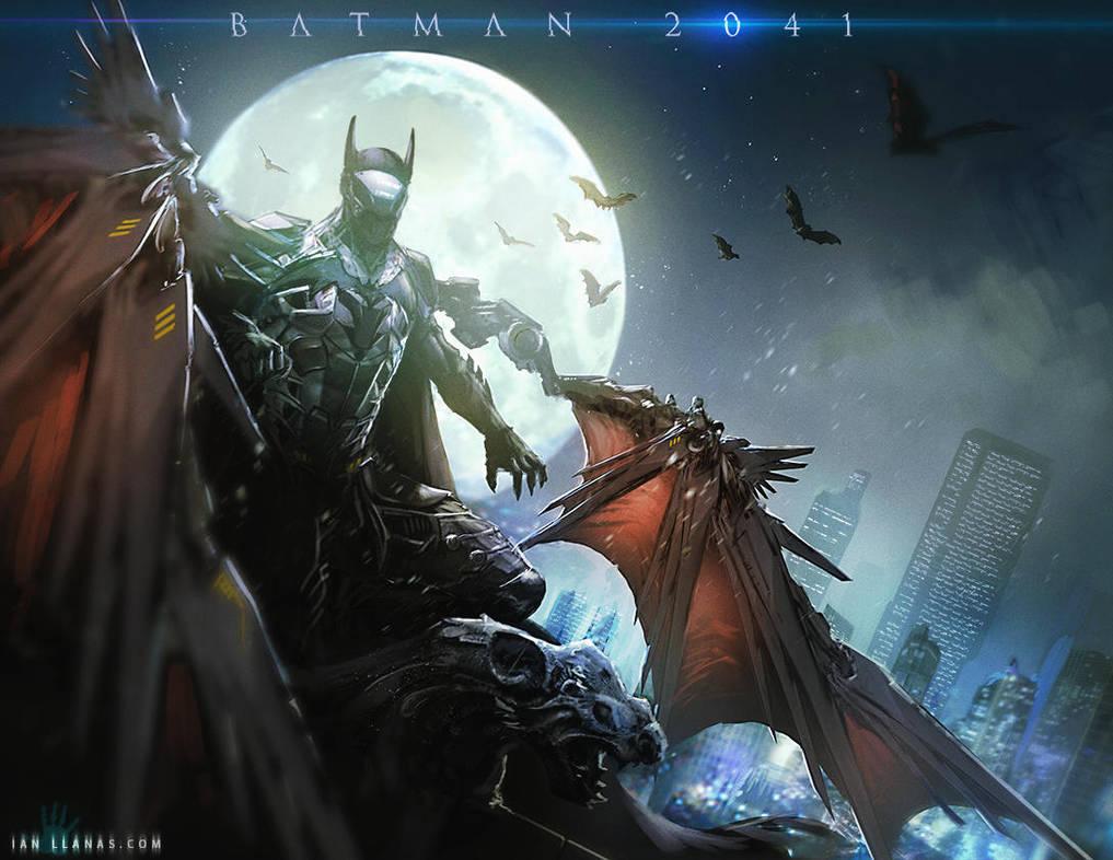 Batman 2041 by ianllanas