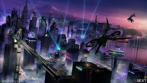 Cyber Seattle by ianllanas
