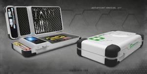 Advanced Medical Kit concept art by ianllanas