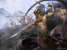 Naga Warlord by ianllanas