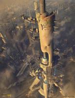 Space Elevator by ianllanas