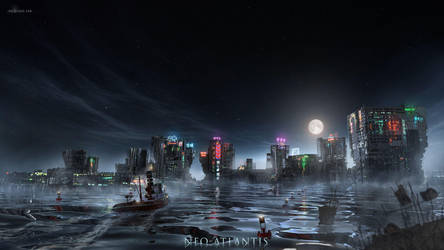 Neo-Atlantis: One-Eyed Jak's by ianllanas