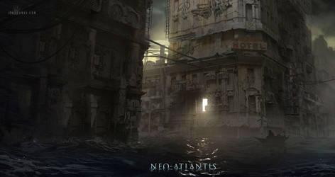 Neo-Atlantis: Hideout by ianllanas