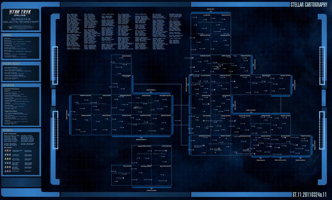Star Trek Online Starchart By Suricatafx