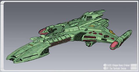 Klingon Flagship Concept by SuricataFX