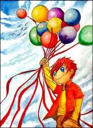 summer balloon by thrudeyes