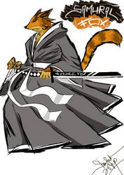 samurai foX by thrudeyes