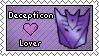 Decepticon Lover Stamp by DarthSuki