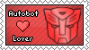 Autobot Lover Stamp by DarthSuki