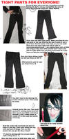 Tight Pants Tutorial by Neumorin