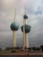 Kuwait Towers by iAiisha