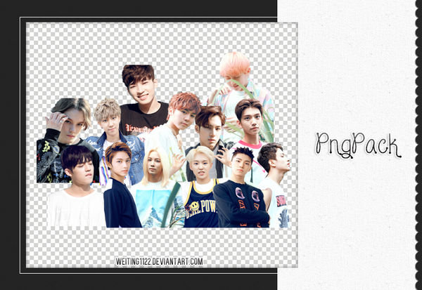 [stop share] Seventeen PNG  ByWeiting1122 by weiting1122