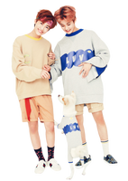 NCT JaeMin and Mark PNG By Weiting1122 by weiting1122