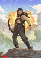 Rambo by mohammedAgbadi