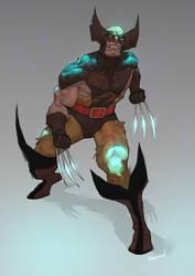 Wolverine by mohammedAgbadi
