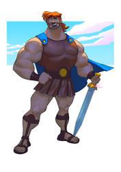 Hercules Fanart by mohammedAgbadi