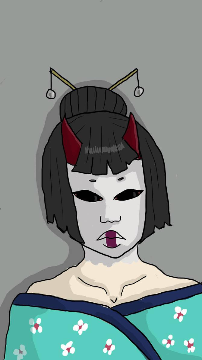 Demon Geisha by SaekoGami