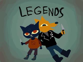 Lets Be Legends by SaekoGami