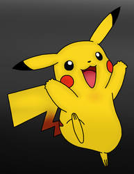Pikachu Drawing :D by MrSouthBay