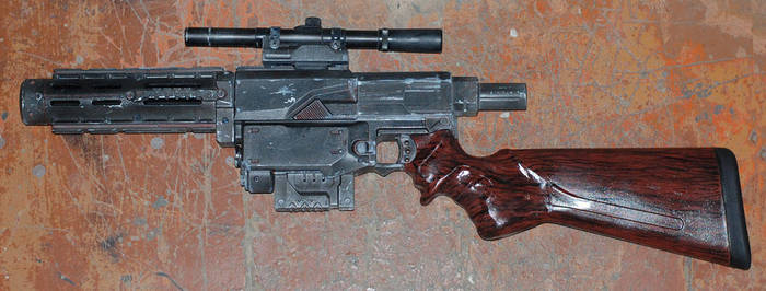 NERF Post-apocalyptic carbine by Beketov