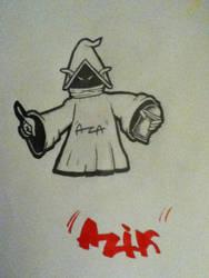 wizard of graffiti by Azik96