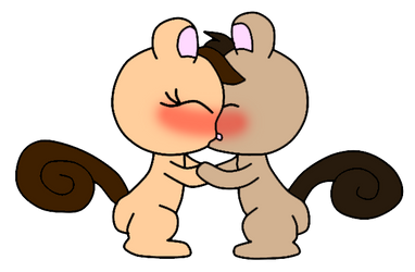squirrel couples by benthecutesquirrel