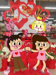 Valentine's day part 1  by benthecutesquirrel