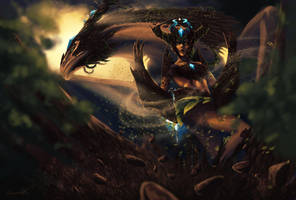 Earth Shyvana by Artylay