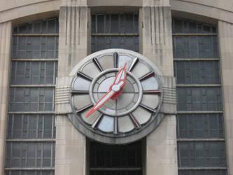 Union Terminal Clock by Origin21