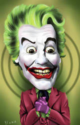 Joker - Cesar Romero by RyeGuyZombie
